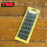 YBM カラー チェーン BMX シングルスピード用 1/2 × 1/8