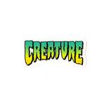 USA製 Creature ミニ ロゴ ステッカー