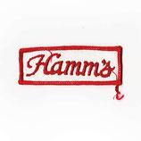1970~80年代 デッドストック ヴィンテージ Hamm's ビール 刺繍 ワッペン