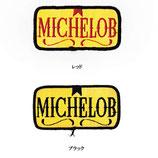 1970~80年代 デッドストック ヴィンテージ MICHELOB ビール 刺繍 ワッペン パッチ