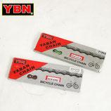 YBN カラー チェーン BMX シングルスピード用 1/2 × 1/8