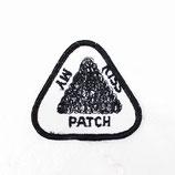 1970~80年代 デッドストック ヴィンテージ kiss my patch 刺繍 ワッペン パッチ