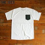 """THE19XX  """"LUCK"""" 60-70年代 デッドストック ファブリック ポケット Tシャツ"""