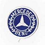 1980年代 デッドストック ヴィンテージ MERCEDES BENZ 丸型 ワッペン パッチ
