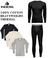 INDERA 綿100% サーマル パンツ