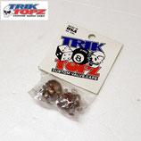 TRIK TOPZ スカル ボーンズ US バルブ キャップ用 クリア 2個セット