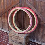 DURO サイドスキン タイヤ セット 赤 24X1.75