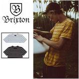 """BRIXTON """"HILT"""" ボーダー Tシャツ"""