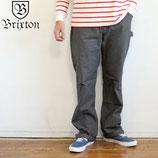 """BRIXTON  """"FLEET CARPENTER PANT"""" リジット ツイル ペインター パンツ"""