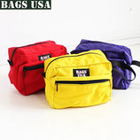 USA製 BAGS USA ナイロンポーチ 3カラー