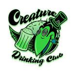 USA製 Creature ドリンキング クラブ ステッカー