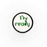 1970~80年代 デッドストック ヴィンテージ I'M ready エロ メッセージ 刺繍 ワッペン