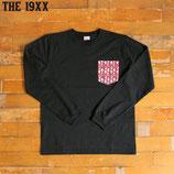 """THE19XX  """"DEPENDABLE"""" 70-80年代 デッドストック ファブリック ポケット 長袖Tシャツ"""