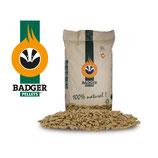 Badger pellets ENplus A1 en DIN plus, 65 zakken van 15 kg, 975 kg per pallets, thuisbezorgd