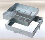 Heika-Ground System PRO galvanized steel / height 80mm