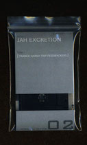 JAH EXCRETION     [TRANCE HARTH TRIP FEEDBACKERS]    cassette