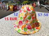 Wendehut (Art.-Nr. 12, Citrusfrüchte) Gr. 57 - 58