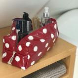 Trousse de toilette coton enduit version +