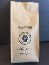 Columbia - Supremo - decaf CO2 – entkoffeinierter Arabica-Espresso (Note: feinfruchtig, süß, Karamell) in der 250g Tüte