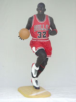 Figura de jugador de baloncesto | réplica de Michael Jordan