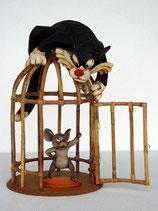 Figura del gato Silvestre | Figuras de Loney Tunes