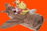 FIGURAS DE WINNIE Y SUS AMIGOS EN AEROPLANO | Figuras de Winnie the Pooh