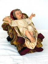 Réplica de niño Jesus de gran tamaño para decoración de navidad