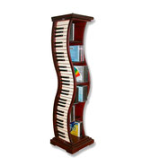 RÉPLICA DE ESTANTERÍA EN FORMA DE PIANO | Estanterías originales