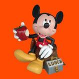 FIGURA DE MICKEY MOUSE CON SU ALMUERZO | Figuras de Mickey Mouse