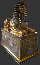 RÉPLICA DE ESFINGE PUESTA EN UNA GRAN BASE | Réplicas de Egipto