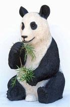 Réplica de oso panda sentado