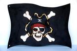 RÉPLICA DE BANDERA PIRATA | Decoración pirata