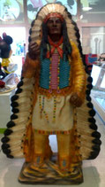 RÉPLICA DE GRAN JEFE INDIO | Réplicas de indios