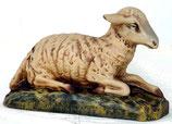 Figura de cordero estirado | réplicas de corderos - decoración temática