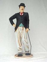 RÉPLICA DE CHARLES CHAPLIN CON BASTON | Figuras de Charles Chaplin