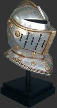 Réplicas de casco de caballero medieval | réplicas de cascos de caballeros
