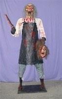 Decoración de terror para lograr decorar halloween con la máxima calidad posible. Réplicas de terror.