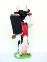 Figura de vaca con pizarra | Figuras de vacas - decoración temática