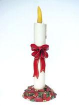 Réplica de Vela con lazo | Adornos de Navidad