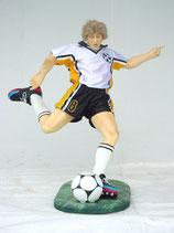 Figura de jugador de fútbol chutando | Figuras de jugadores de fútbol