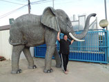 figura de gran elefante | réplicas de elefantes