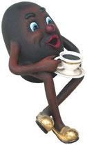 RÉPICA DE GRANO DE CAFE BEBIENDO | Réplicas para la restauración