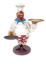 RÉPLICA DE POLLO CHEF CAMARERO | Réplicas de pollos