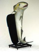 RÉPLICA DE PEZ CON PIZARRA DE MENÚS | Réplicas de peces