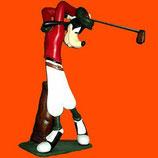 Réplica de Goofy golfista paragüero | Figuras Disney