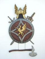 RÉPLICA DE ESCUDO DE ARMAS CELTA | réplicas de escudos de armas
