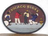 RÉPLICA DE ANUNCIO DE LOS CHICAGO BLUES | Mosaicos originales