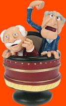 ABUELOS DEL PALCO | Figuras de los Muppets