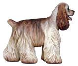Réplica de perro cocker inglés - decoración temática - atrezzo temático