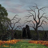Consigue los mejores árboles de terror para una fantástica decoración de halloweeen